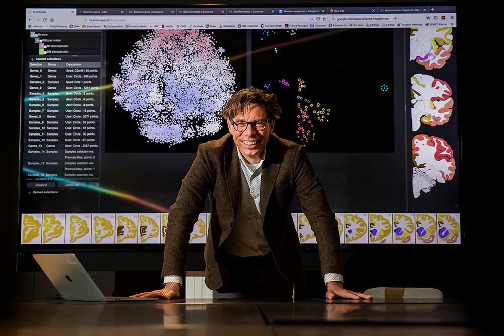 Marcel Reinders, Scientific Director of AI4B.io Lab