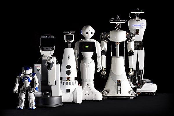 zorgrobot line-up van Tech United